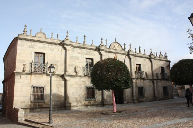 Palace of Los Deanes in Plaza Nalvillos