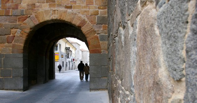 Puerta de San Vicente (Gate of St Vincent, photo missing)